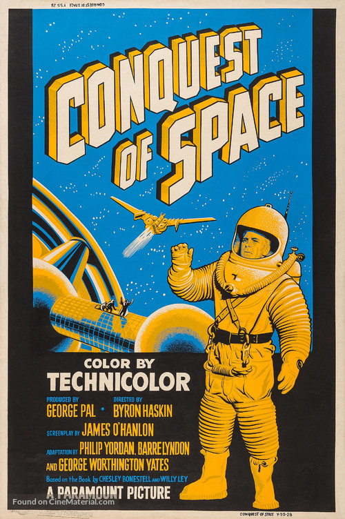 Conquest of Space - Movie Poster