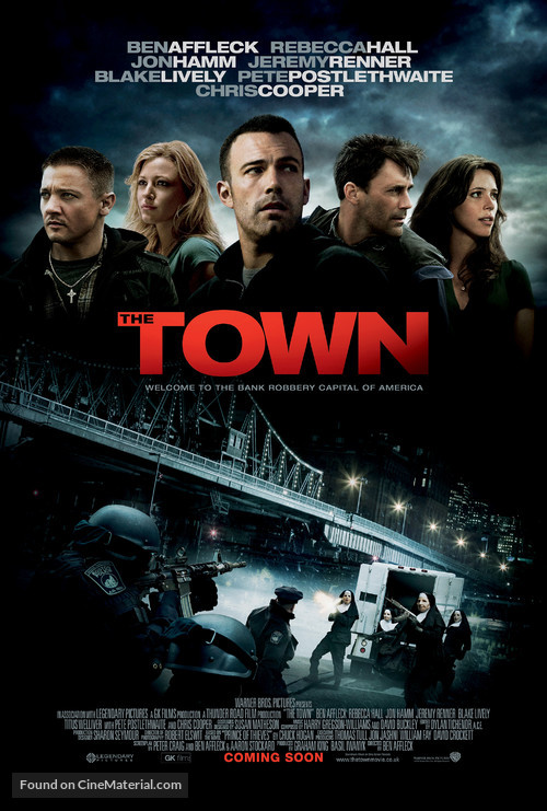The Town - British Movie Poster