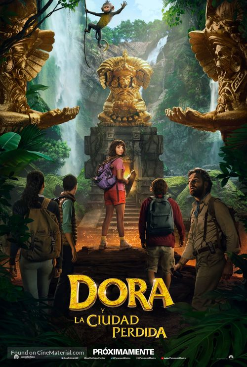 Dora and the Lost City of Gold - Mexican Movie Poster