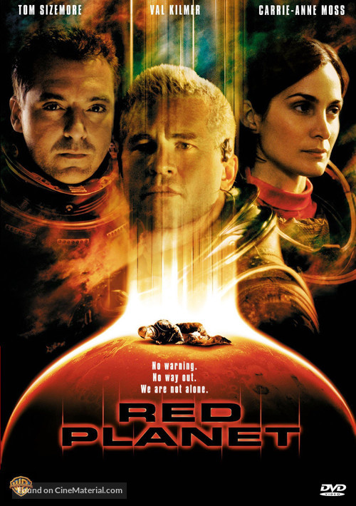 Red Planet - DVD cover
