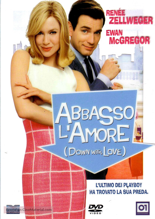 Down with Love - Italian DVD movie cover