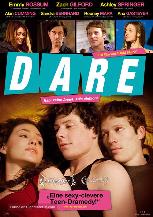 Dare - German Movie Poster