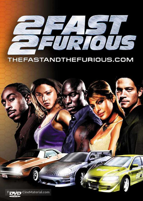 2 Fast Furious German Dvd Cover