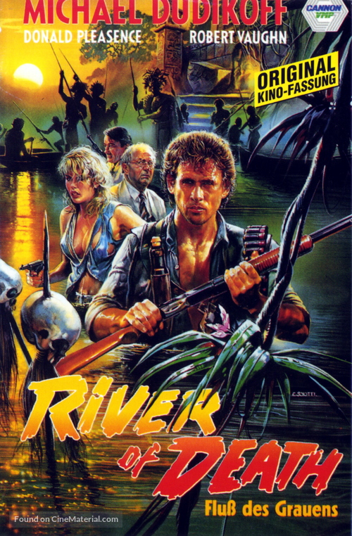 River of Death - German VHS movie cover