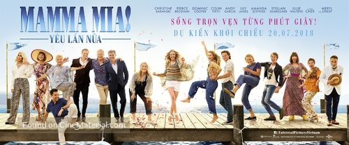 Mamma Mia! Here We Go Again - Vietnamese Movie Poster
