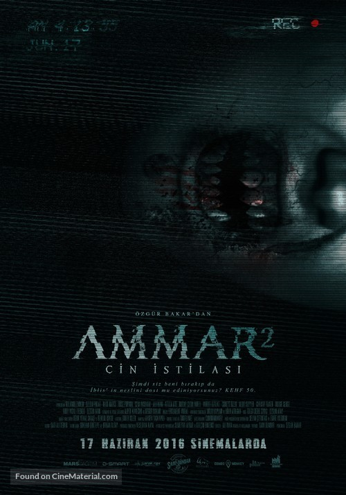 Ammar 2: Cin Istilasi - Turkish Movie Poster