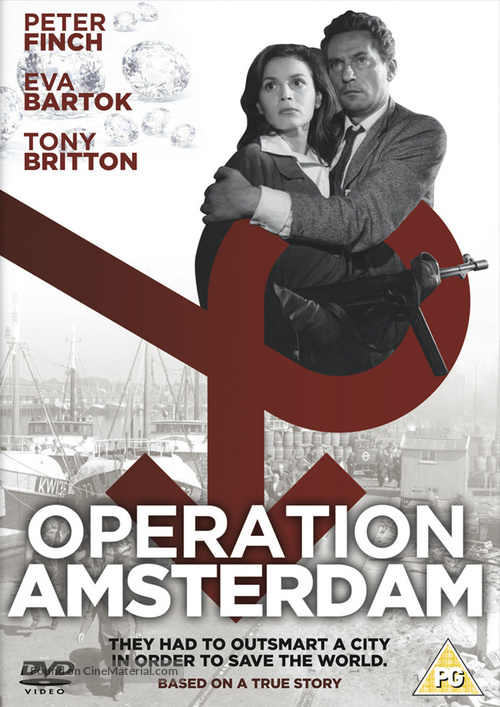Operation Amsterdam - British DVD cover