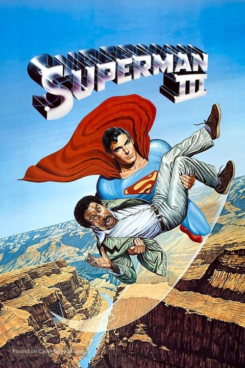 Superman III - Video on demand movie cover