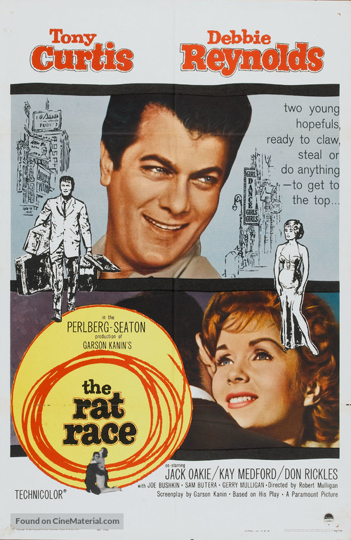 The Rat Race - Movie Poster