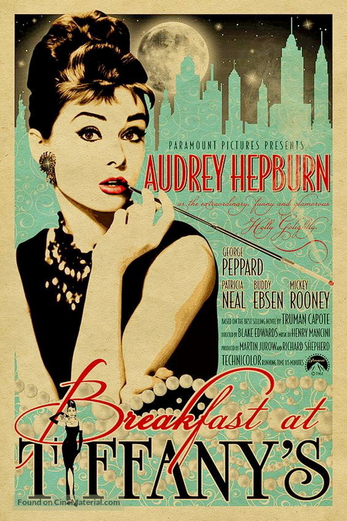 Breakfast at Tiffany's - Movie Poster
