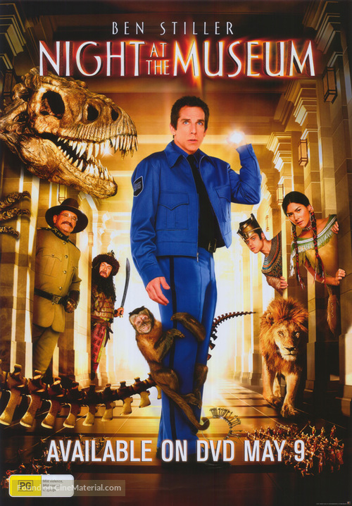 Night at the Museum - Australian Video release movie poster