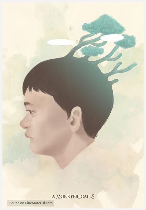A Monster Calls - South Korean Movie Poster