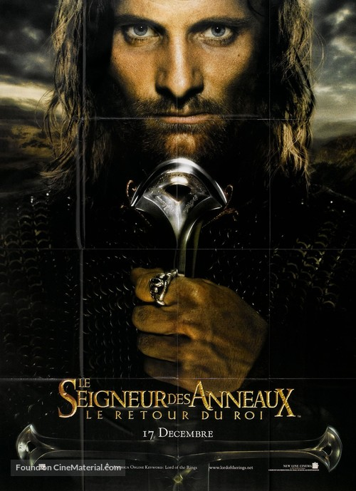 The Lord of the Rings: The Return of the King - French Movie Poster