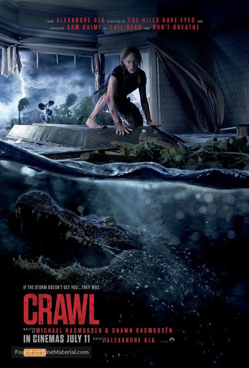 Crawl - Australian Movie Poster