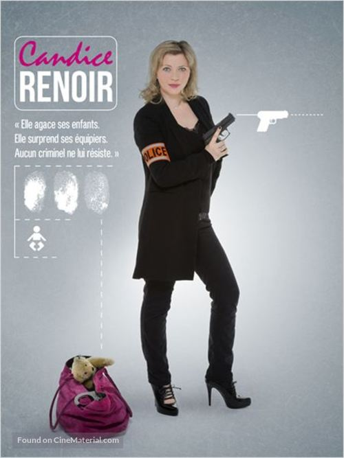 """Candice Renoir"" - French Movie Poster"