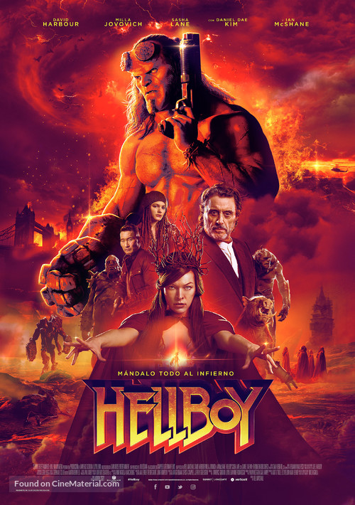 Hellboy - Spanish Movie Poster