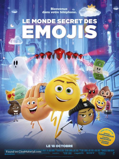 The Emoji Movie - French Movie Poster