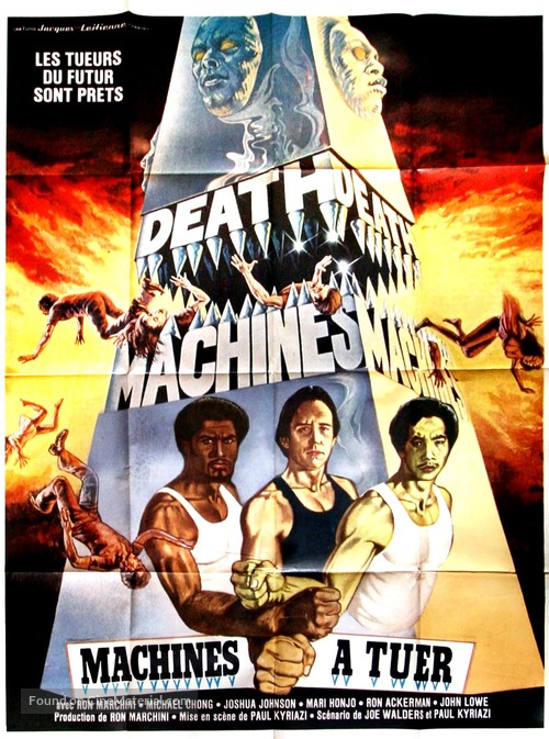 Death Machines - French Movie Poster