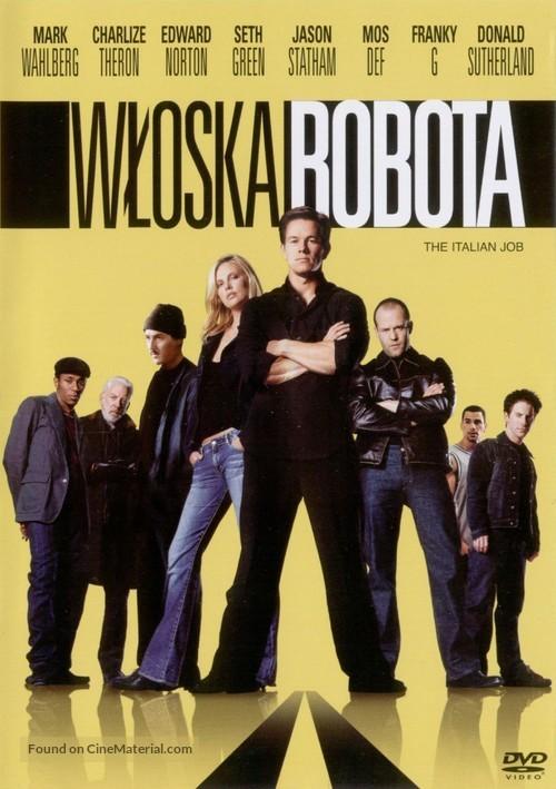 The Italian Job - Polish Movie Cover