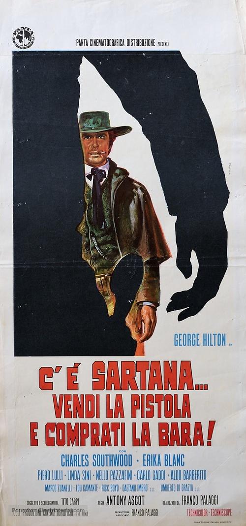 C'è Sartana... vendi la pistola e comprati la bara - Italian Movie Poster