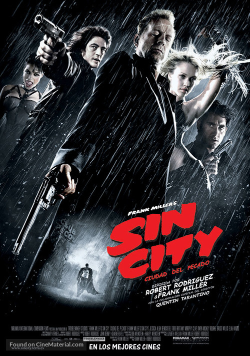 Sin City - Spanish Movie Poster