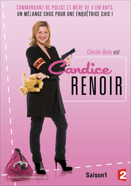 """""""Candice Renoir"""" - French Movie Cover"""
