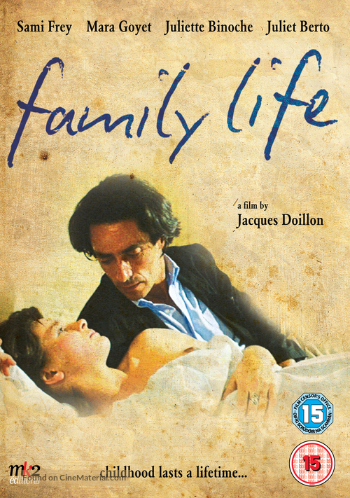 La vie de famille - British Movie Cover