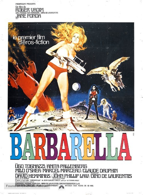 Barbarella - French Movie Poster