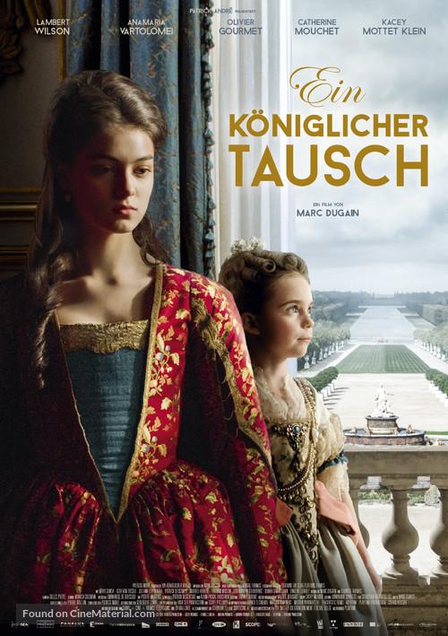 Cambio de reinas (2017) - Página 2 Lechange-des-princesses-german-movie-poster