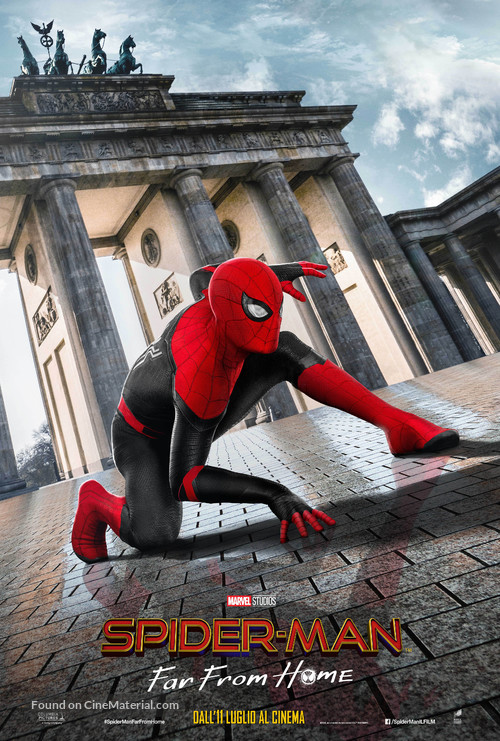 Spider-Man: Far From Home - Italian Movie Poster