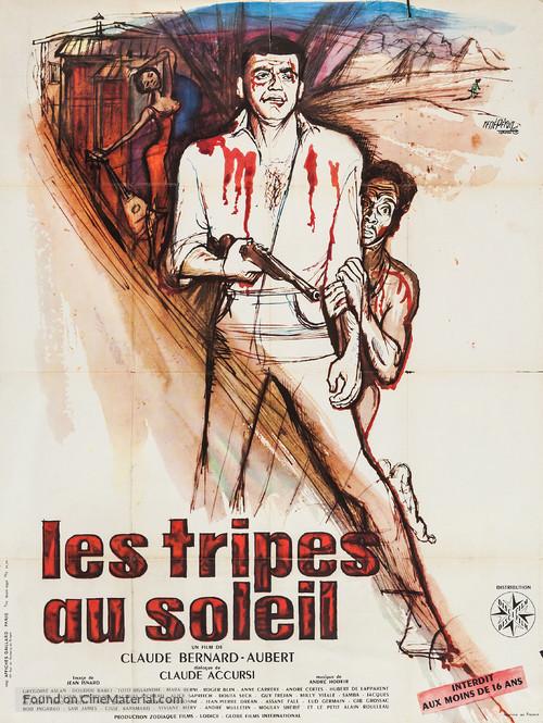 Les tripes au soleil - French Movie Poster