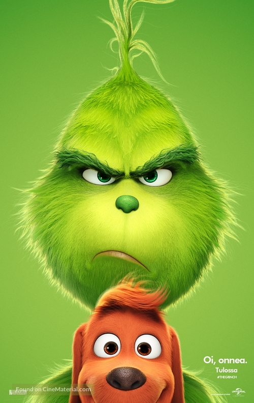 The Grinch - Finnish Movie Poster