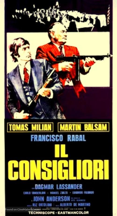 Il consigliori - Italian Movie Poster