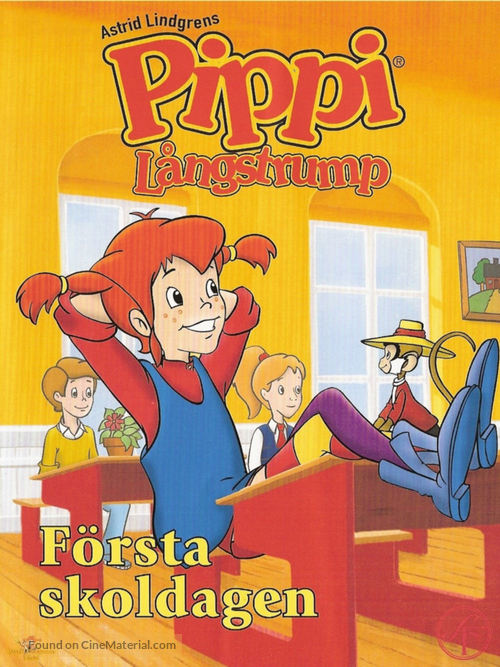 pippi longstocking swedish dvd cover