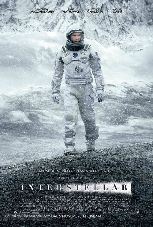 Interstellar - Italian Movie Poster