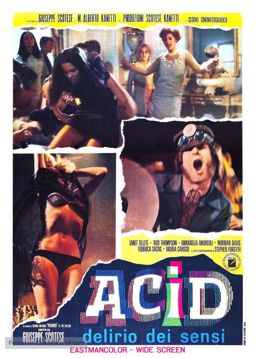 Acid - delirio dei sensi - Italian Movie Poster