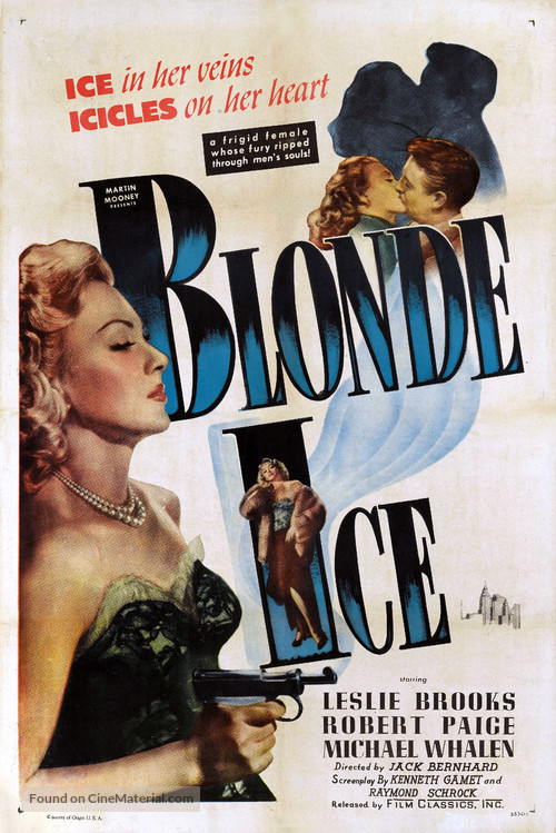 Blonde Ice - Movie Poster