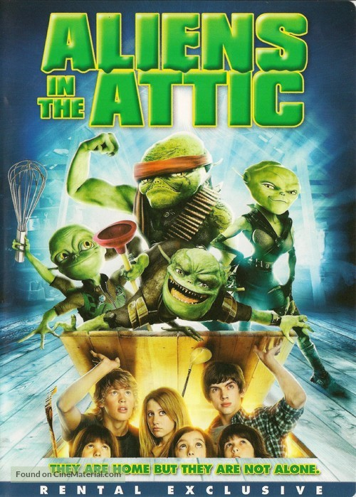 Aliens in the Attic - DVD cover