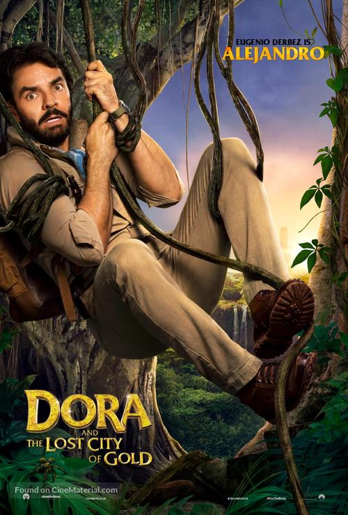 Dora and the Lost City of Gold - British Movie Poster