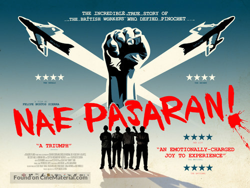Nae Pasaran - British Movie Poster