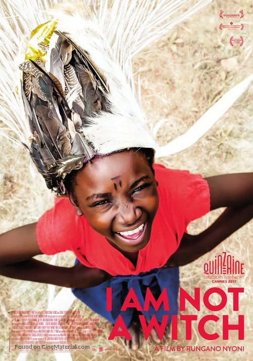 I Am Not a Witch - Swiss Movie Poster
