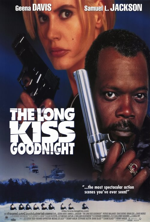 The Long Kiss Goodnight - Movie Poster