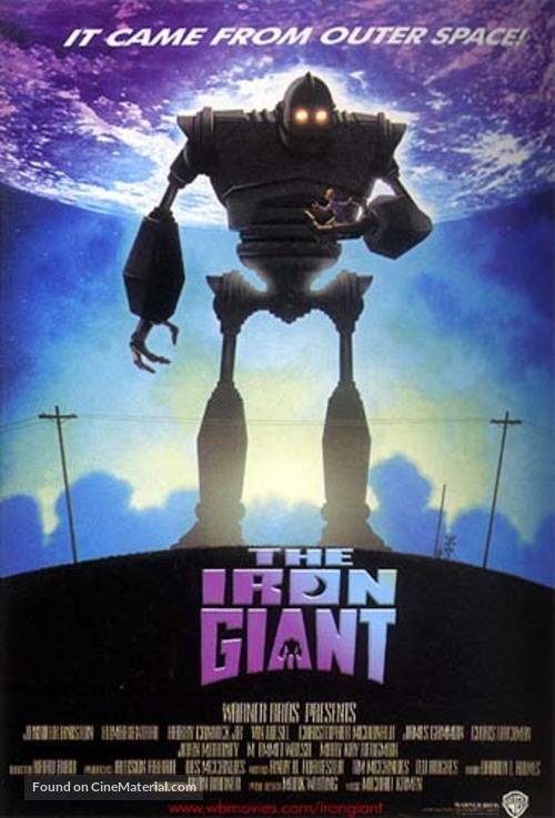 The Iron Giant - Movie Poster