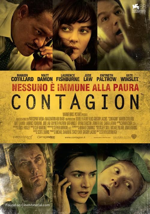 Contagion - Italian Movie Poster