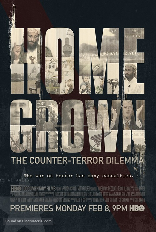 Homegrown: The Counter-Terror Dilemma - Movie Poster