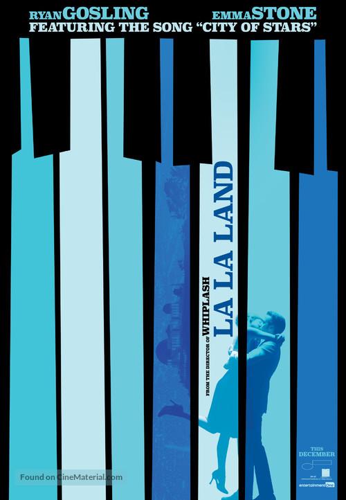 La La Land - Canadian Movie Poster