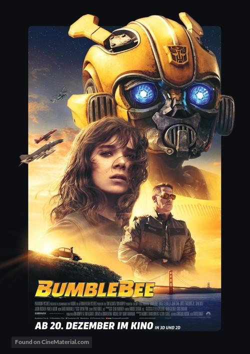 Bumblebee - German Movie Poster