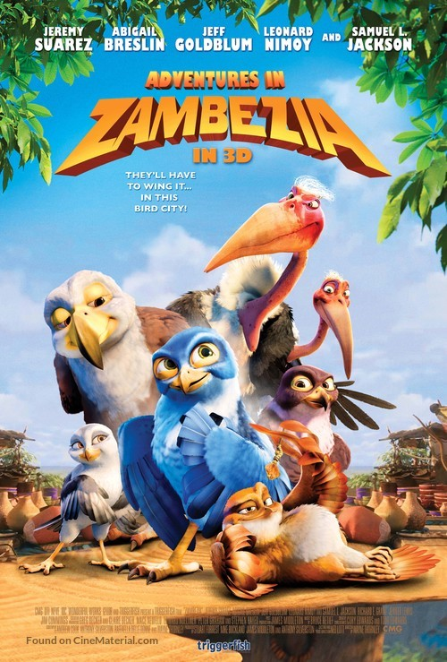 Zambezia - South African Movie Poster