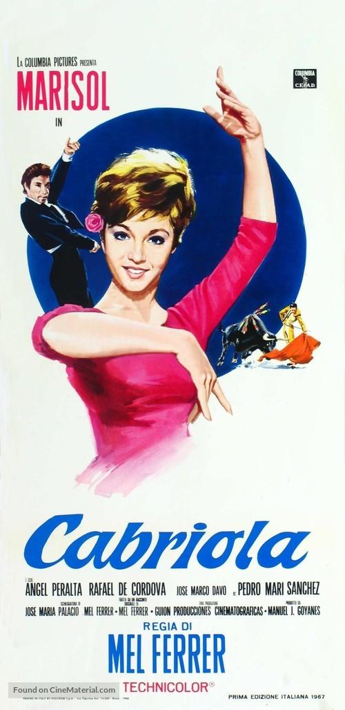 Cabriola - Italian Movie Poster