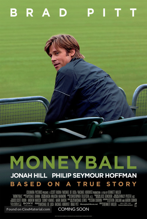 Moneyball - Movie Poster